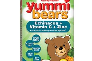 ECHINACEA + VITAMIN C + ZINC DIETARY SUPPLEMENT YUMMI BEARS