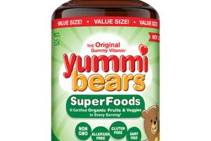 SUPERFOODS DIETARY SUPPLEMENT YUMMI BEARS