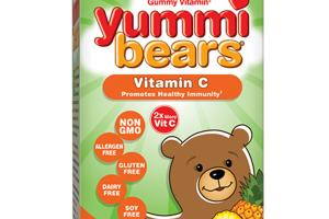 THE ORIGINAL GUMMY VITAMIN C PROMOTES HEALTHY IMMUNITY DIETARY SUPPLEMENT YUMMI BEARS
