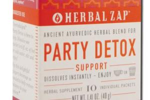 PARTY DETOX SUPPORT HERBAL SUPPLEMENT