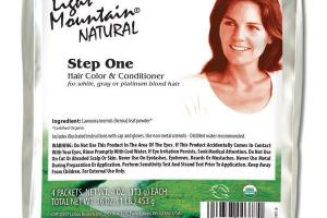 NATURAL STEP ONE HAIR COLOR & CONDITIONER