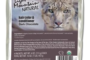 NATURAL HAIR COLOR & CONDITIONER