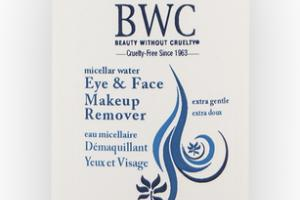 MICELLAR WATER EYE & FACE MAKEUP REMOVER