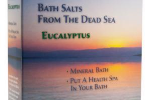 BATH SALTS FROM THE DEAD SEA
