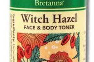 WITCH HAZEL FACE & BODY TONER