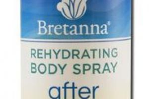 AFTER REHYDRATING BODY SPRAY