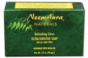 NATURALS ULTRA-SENSITIVE SOAP REFRESHING CITRUS