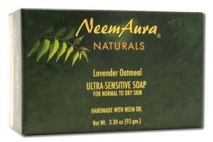 NATURALS LAVENDER OATMEAL ULTRA-SENSITIVE SOAP