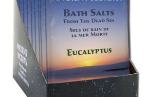 BATH SALTS FROM THE DEAD SEA EUCALYPTUS