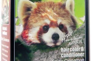 NATURAL HAIR COLOR & CONDITIONER SPICY CINNAMON