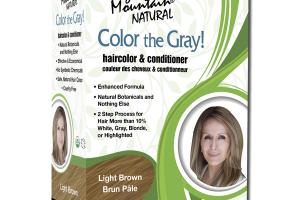 NATURAL HAIRCOLOR & CONDITIONER LIGHT BROWN