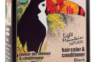 NATURAL HAIRCOLOR & CONDITIONER BLACK