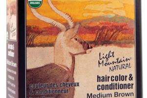 NATURAL HAIR COLOR & CONDITIONER MEDIUM BROWN