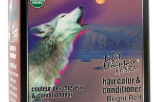 NATURAL HAIR COLOR & CONDITIONER BRIGHT RED