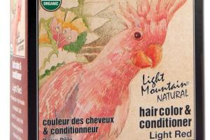 NATURAL HAIR COLOR & CONDITIONER LIGHT RED