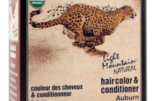 NATURAL HAIR COLOR & CONDITIONER AUBURN