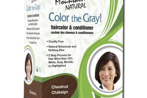 NATURAL COLOR THE GRAY! HAIRCOLOR & CONDITIONER