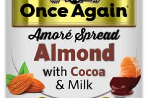 AMORE SPREAD ALMOND WITH COCOA & MILK