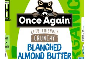 CRUNCHY BLANCHED ALMOND BUTTER