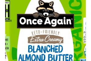 KETO-FRIENDLY EXTRA CREAMY BLANCHED ALMOND BUTTER