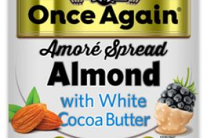 ALMOND WITH WHITE COCOA BUTTER AMORE SPREAD