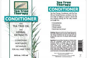 CONDITIONER WITH TEA TREE OIL AND HERBAL EXTRACTS
