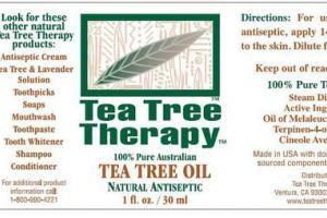 NATURAL ANTISEPTIC 100% PURE AUSTRALIAN TEA TREE OIL