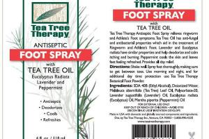ANTISEPTIC FOOT SPRAY WITH TEA TREE OIL