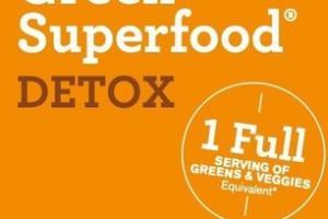 EFFERVESCENT GREENS PLUS DETOXIFYING SUPERFOODS ONE TAB. SIP. DETOX. DIETARY SUPPLEMENT ORANGE TURMERIC