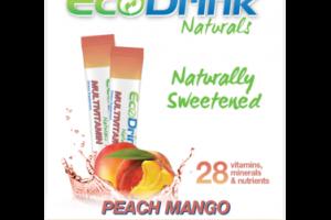 NATURALLY SWEETENED PEACH MANGO MULTIVITAMIN DRINK