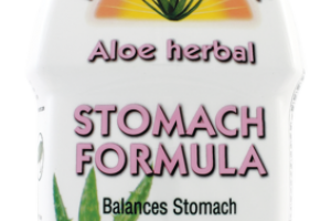 ALOE HERBAL STOMACH FORMULA DIETARY SUPPLEMENT, A FRESH MINT TASTE