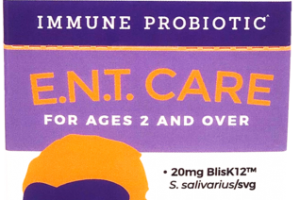 STRAWBERRY BURST FLAVOR E.N.T. CARE IMMUNE PROBIOTIC FOR AGES 2 AND OVER DIETARY SUPPLEMENT
