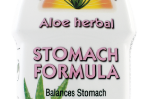 ALOE HERBAL STOMACH FORMULA DIETARY SUPPLEMENT, FRESH MINT