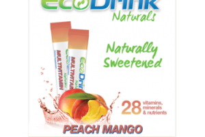 MULTIVITAMIN IMMUNE FUNCTION MUSCLE & JOINT CAPACITY DIETARY SUPPLEMENT STICK PACKS, PEACH MANGO