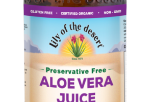 WHOLE LEAF FILTERED ALOE VERA DIETARY SUPPLEMENT JUICE