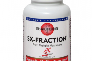 SX-FRACTION FROM MAITAKE MUSHROOM SUPPORTS HEALTHY BLOOD SUGAR LEVELS DIETARY SUPPLEMENTS TABLETS