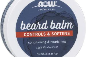 CONTROLS & SOFTENS BEARD BALM CONDITIONING & NOURISHING LIGHT WOODSY SCENT