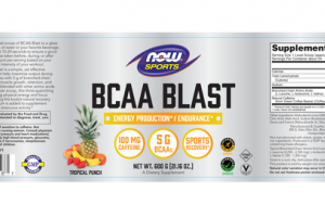 TROPICAL PUNCH BCAA BLAST A DIETARY SUPPLEMENT