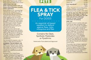 FLEA & TICK SPRAY FOR DOGS