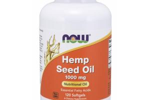 HEMP SEED NUTRITIONAL OIL 1000 MG DIETARY SUPPLEMENT SOFTGELS