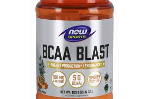 BCAA BLAST ENERGY PRODUCTION / ENDURANCE DIETARY SUPPLEMENT, TROPICAL PUNCH