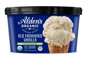 OLD FASHIONED CREAMY CLASSIC VANILLA ICE CREAM