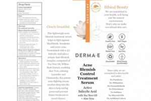 ACNE BLEMISH CONTROL TREATMENT SERUM