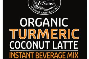 ORGANIC TURMERIC COCONUT LATTE INSTANT BEVERAGE MIX