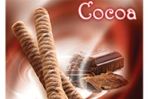 COCOA CRISP SPIRAL WAFERS WITH EXQUISITE CREAMY CENTERS