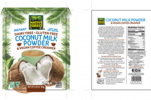 COCONUT MILK POWDER & VEGAN COFFEE CREAMER