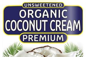 PREMIUM UNSWEETENED ORGANIC COCONUT CREAM