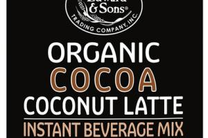 ORGANIC COCOA COCONUT LATTE INSTANT BEVERAGE MIX