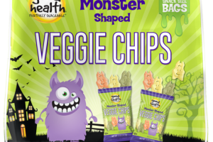MONSTER SHAPED VEGGIE CHIPS POTATO BASED SNACK