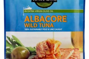 ALBACORE WILD TUNA IN EXTRA VIRGIN OLIVE OIL